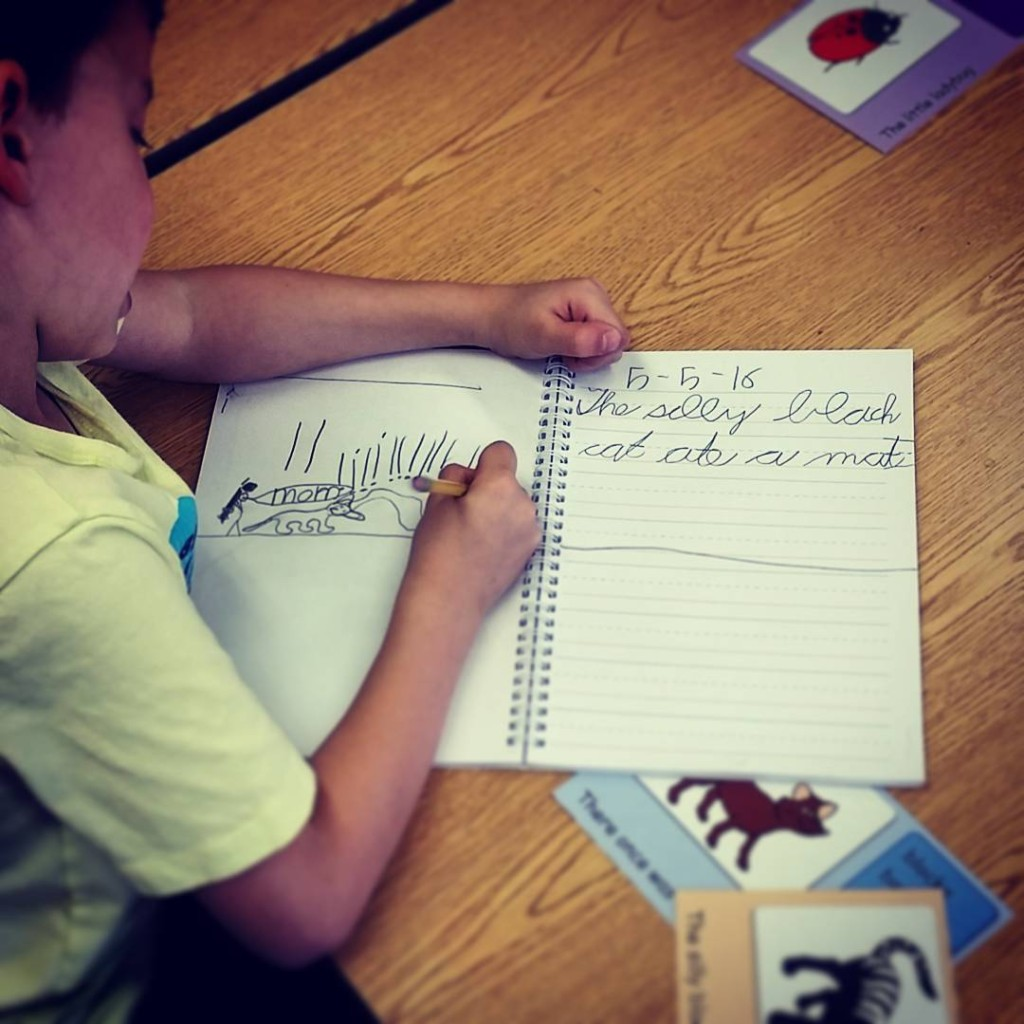 Rhyming words and writing poetry firstgrade cursive poetry penmanship makelearningfunhellip