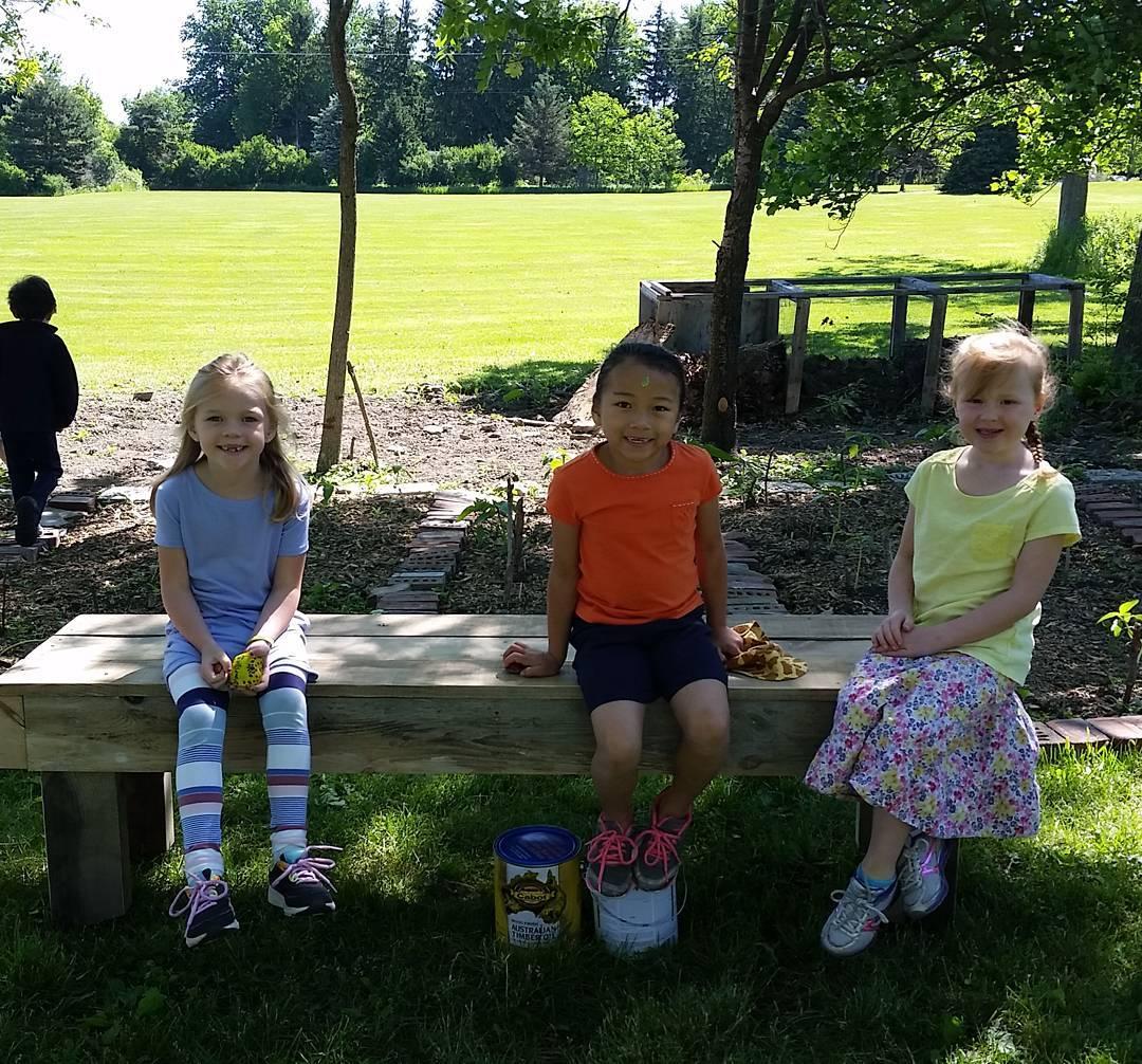 CLCS Gardens 2016 Garden Bench