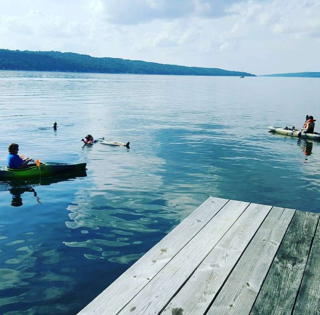 wwwclcschoolorg Staff Retreat at IthacaBouthousecom kayaking ithacabouthouse cayugalake ithacaisgorgesandgorgeous privateschoolhellip