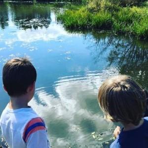 CLCS Environmental Education pond 1st & 2nd grade 2016