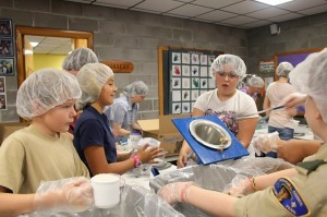 Community Service at Covenant Love Community School in Ithaca