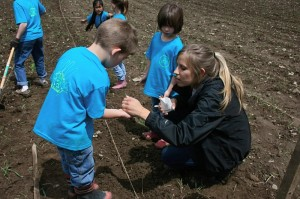 Covenant Love Community School in Ithaca Gardening Project