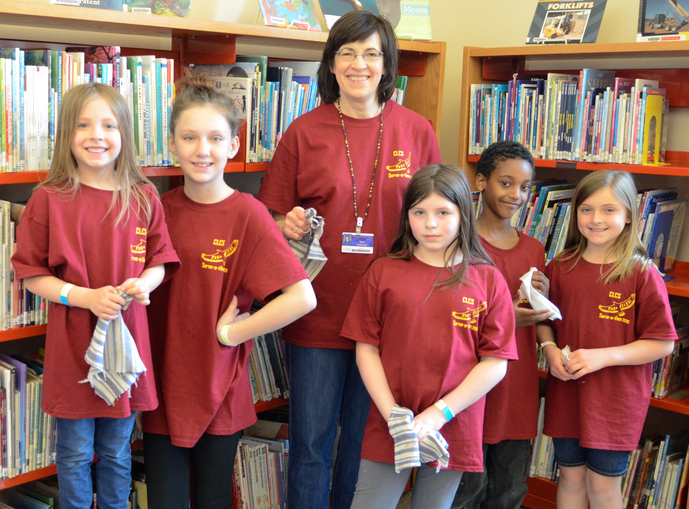 Serve-a-thon 2016 Southworth Library Cleaning Crew