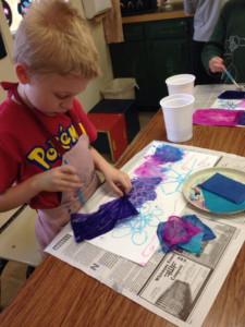 clcs art class hybrid homeschool